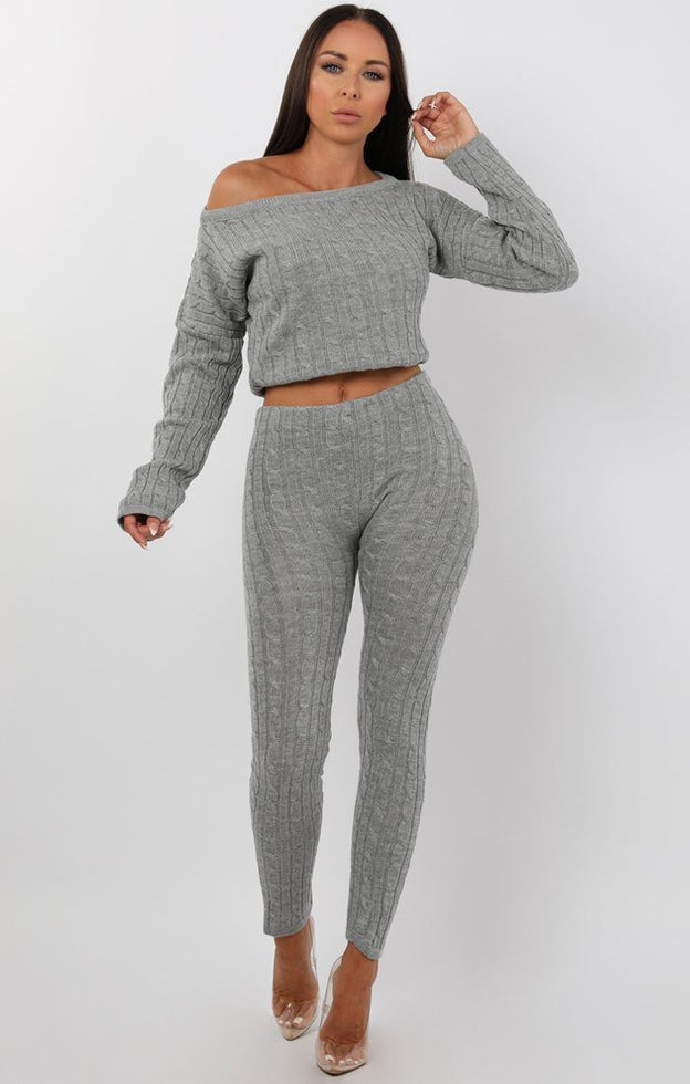 Grey-Cable-Knit-Loungewear-Set-Alison