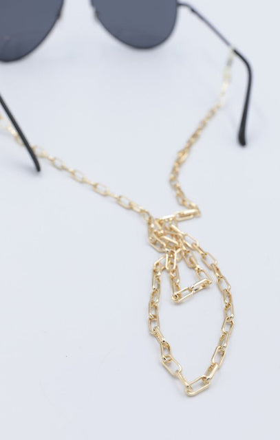 Gold Link Glasses Chain - Panzi