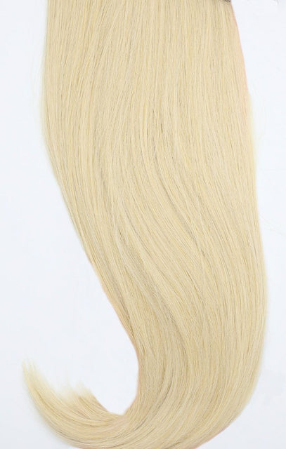 "Light Blonde 24"" Synthetic Straight Hair Extensions Clip In Piece - Auora"