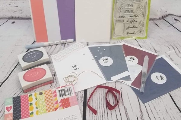 Past Monthly Card Making Box Kit