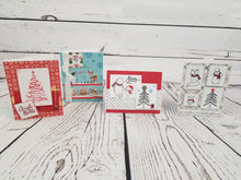 Previous month's card making box kits - Christmas Holidays