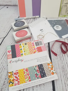 April Cardmaking Subscription Box