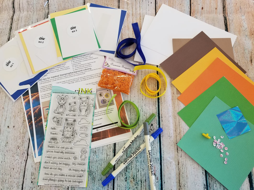 July Cardmaking Subscription Box