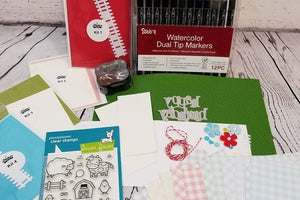 Previous month's card making box kits