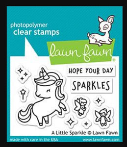 A Little Sparkle by Lawn Fawn