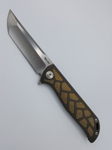 K2 Bronze - with Gold Print Inlay -  USN Special Edition - TacOpTools
