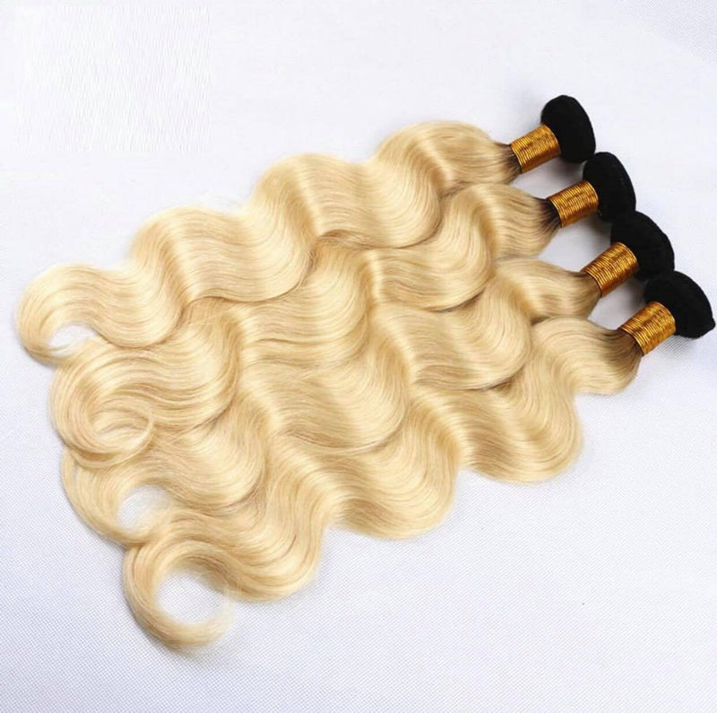 1B/613 Blonde Body Wave