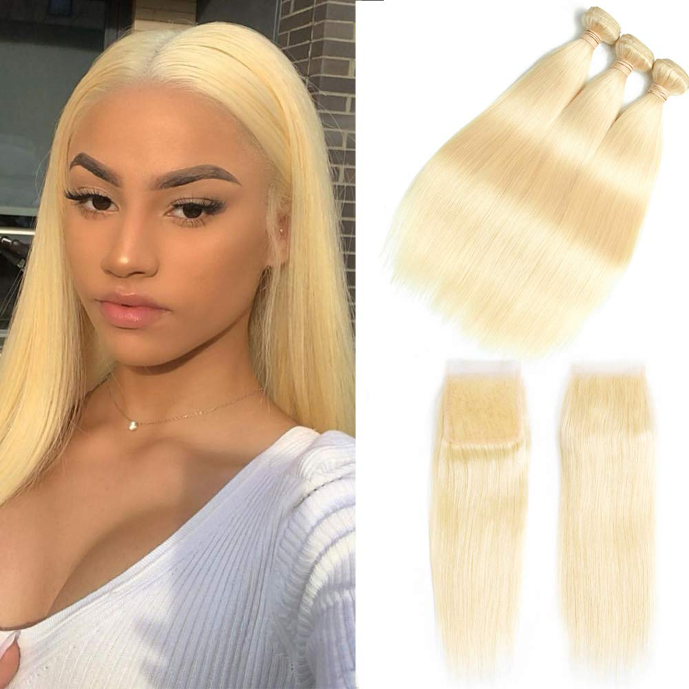 613 Blonde Straight Frontal