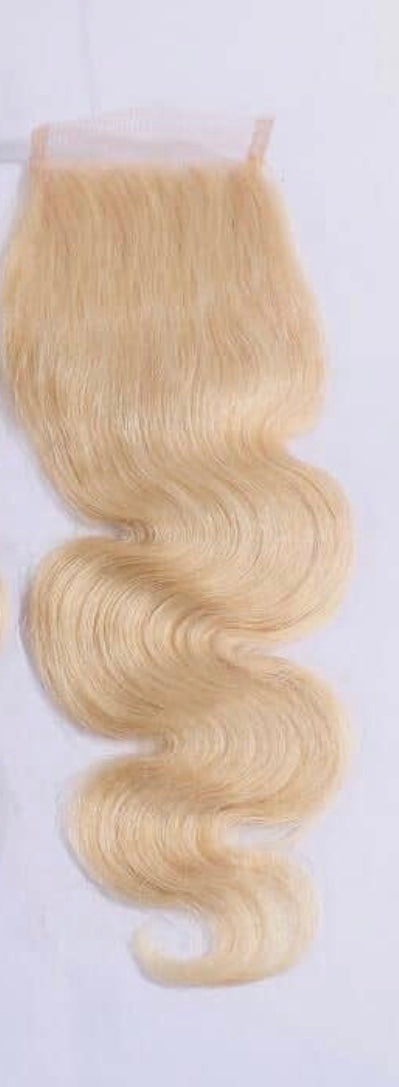 Eurasian Blonde Body Wave 613 Frontal