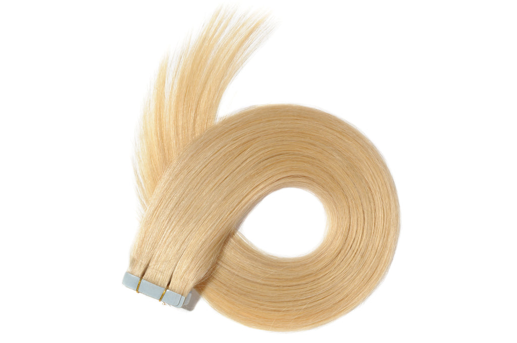 613 Blonde Straight Tape In