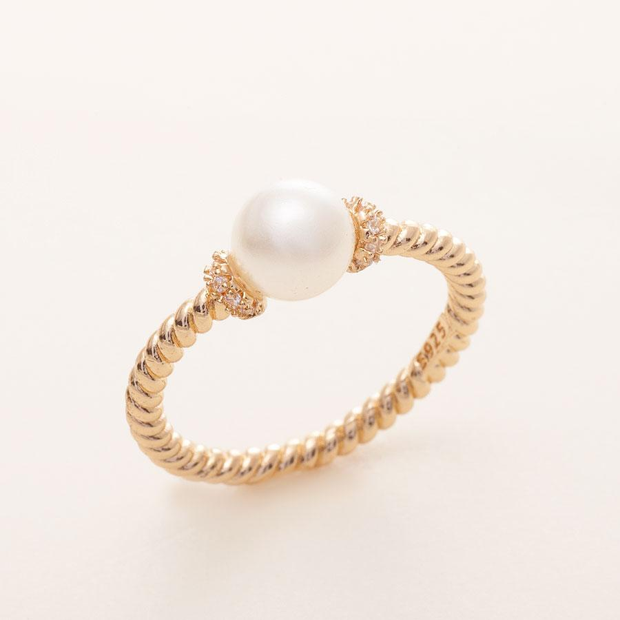 Pearl Pre-Engagement Ring