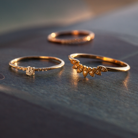 14K Gold Engagement Rings