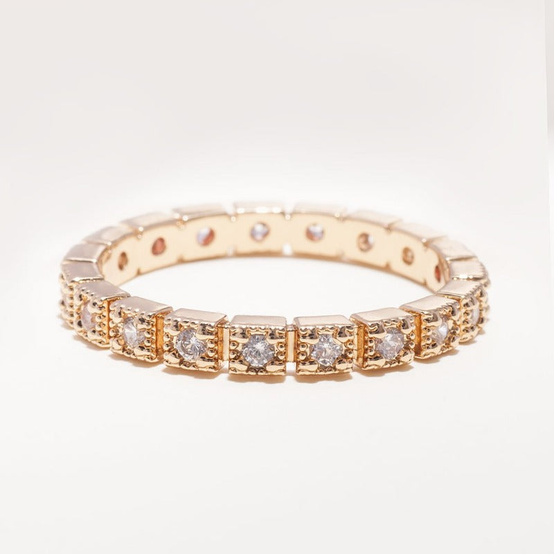 Cluster Diamond Eternity Ring_photo