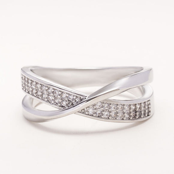 Criss-Cross Diamond Eternity Ring_img