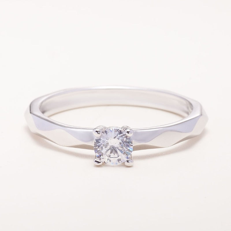 Engagement Ring with LAB Grow Diamond_img