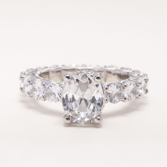 Full Eternity Diamond Engagement Ring-img