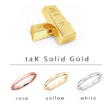 14K Solid Gold One2ThreeJewelry