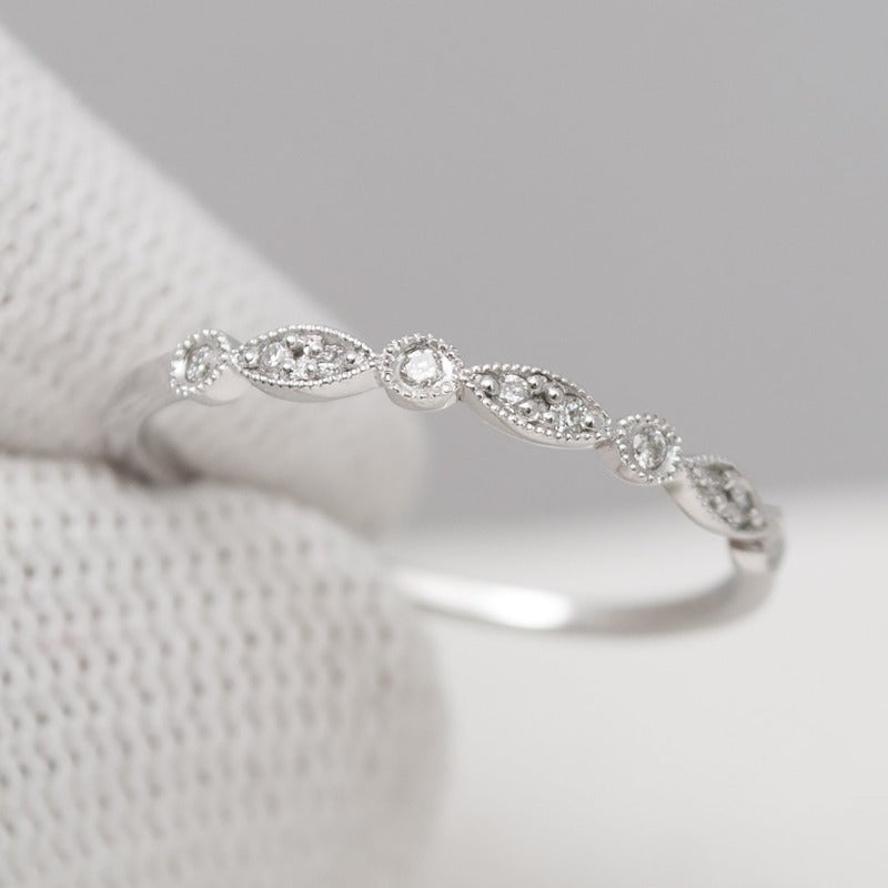 Infinity Wedding Band_14K_White_gold_diamonds_photo