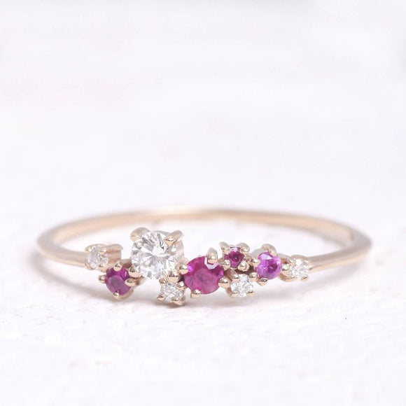 Ruby Anniversary Ring