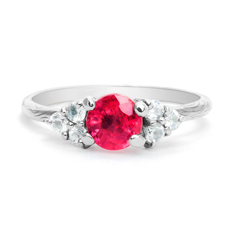 Engagement Ruby Ring