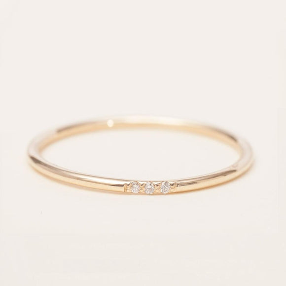 Thin Dainty Ring
