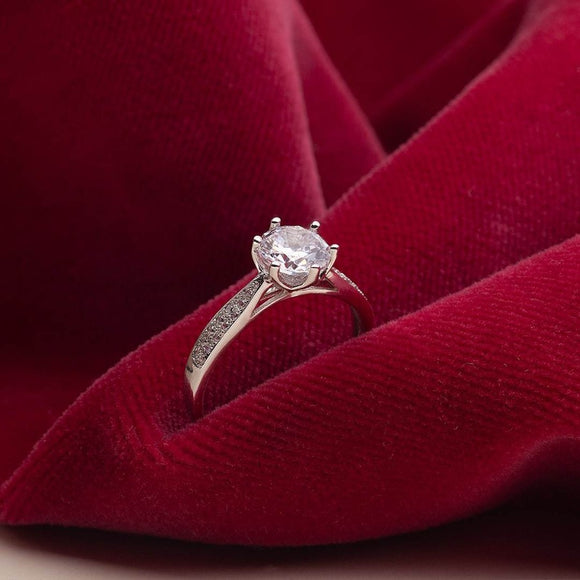 Cathedral Engagement Ring_one2threejewelry-photo1