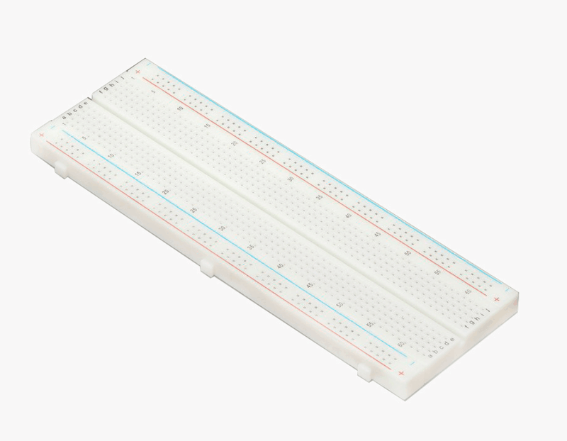 Odseven Full Sized PCB Solderless breadboard for Raspberry Pi Test Develop DIY White