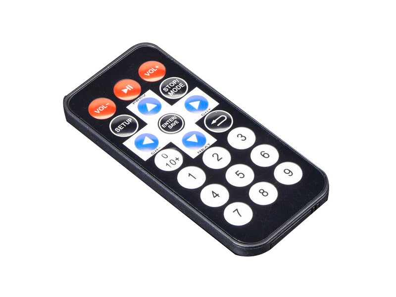 Mini Remote Control for Raspberry Pi