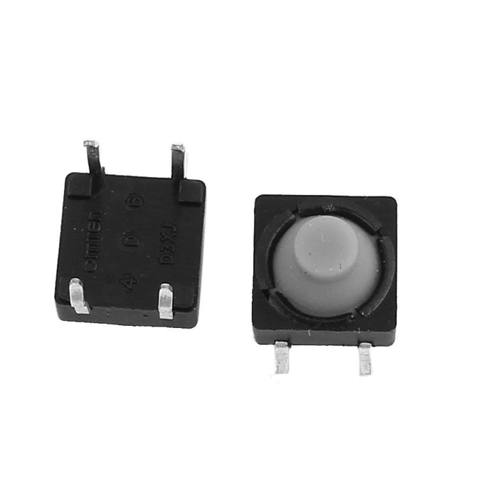 Odseven Tactile Switch Buttons (12mm square, 6mm tall) x 10 pack