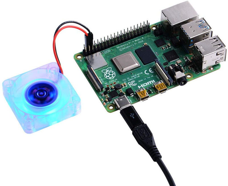 DC 5V Brushless Cup Cooling Fan for Raspberry Pi 4B