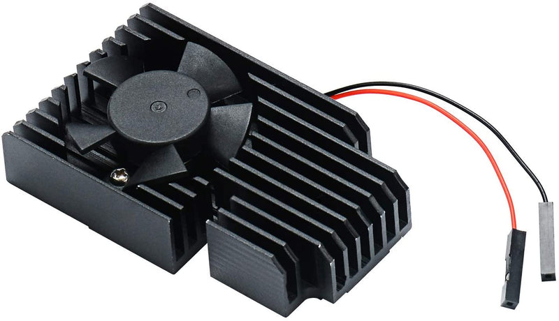 Aluminum Heatsink Cooling Kit for Raspberry Pi 4B/3B/3B+ (B Plus)
