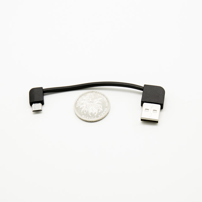 "A Male To Micro B Male 6.5"" ± 0.5"" Short Adapter / Micro B Cable for Mobile"