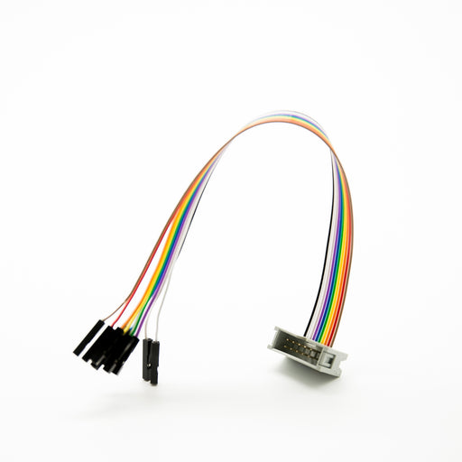 10 Pin IDC Socket Rainbow Color Flat Ribbon Cable With Raspberry Pi