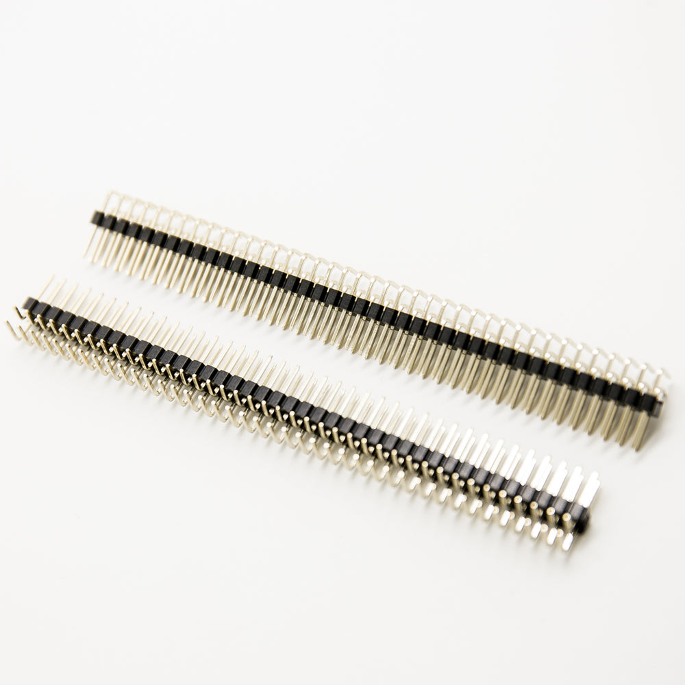 "Odseven Rasoberry Pi Break-away 0.1"" 40-pin Single Row Strip Right-angle Male Header"