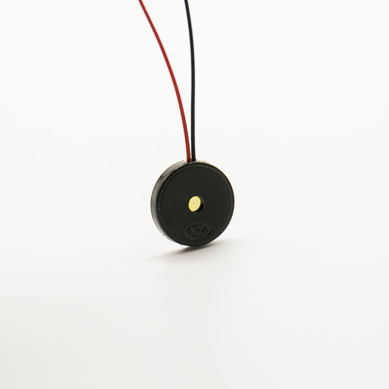 Small Enclosed Piezo Elements w/Wires for Raspberry Pi