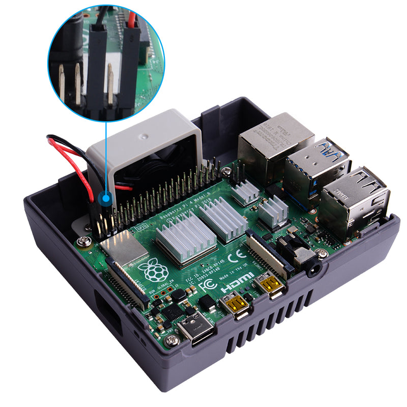 Game Console Shell for Raspberry Pi 4B