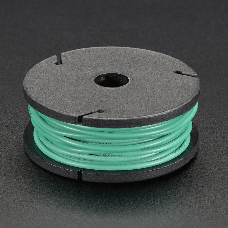 Odseven Silicone Cover Stranded-Core Wire - 25ft 26AWG Green Wholesale