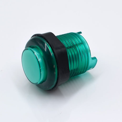 Odseven Arcade Button with LED - 30mm Translucent Green Wholesale