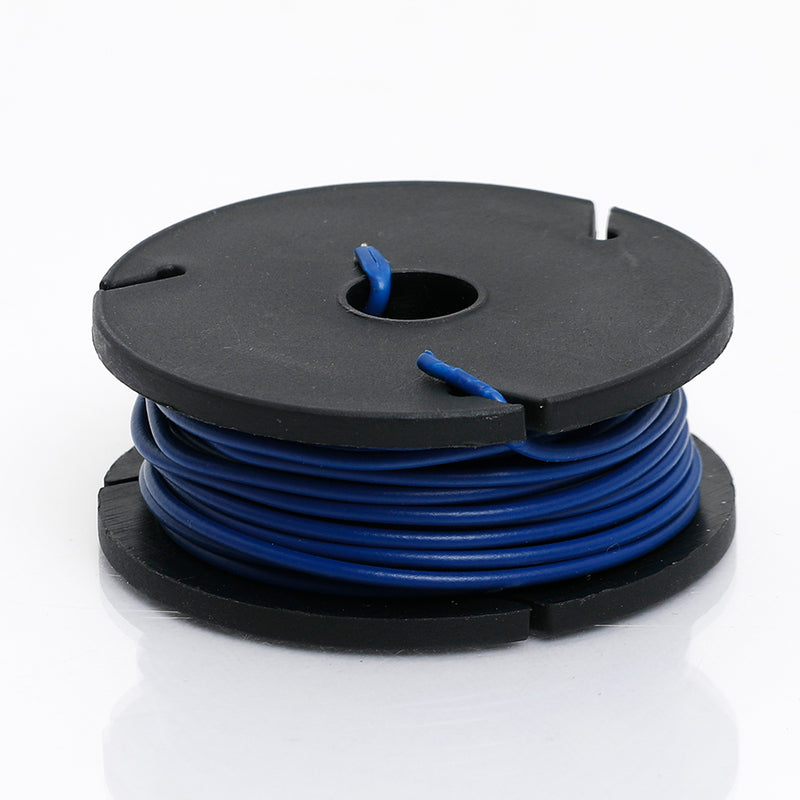 Odseven Solid-Core Wire Spool - 25ft - 22AWG - Blue Wholesale