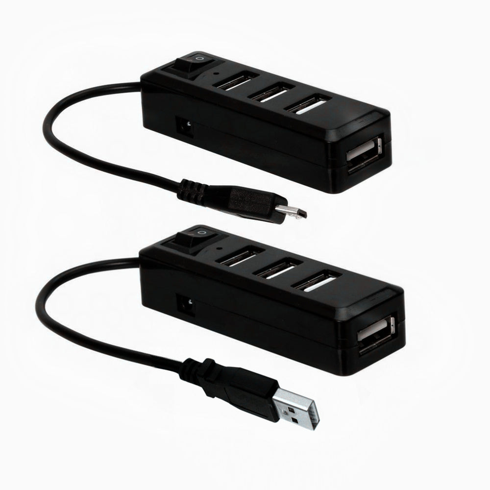 USB Mini Hub Kit with Power Switch