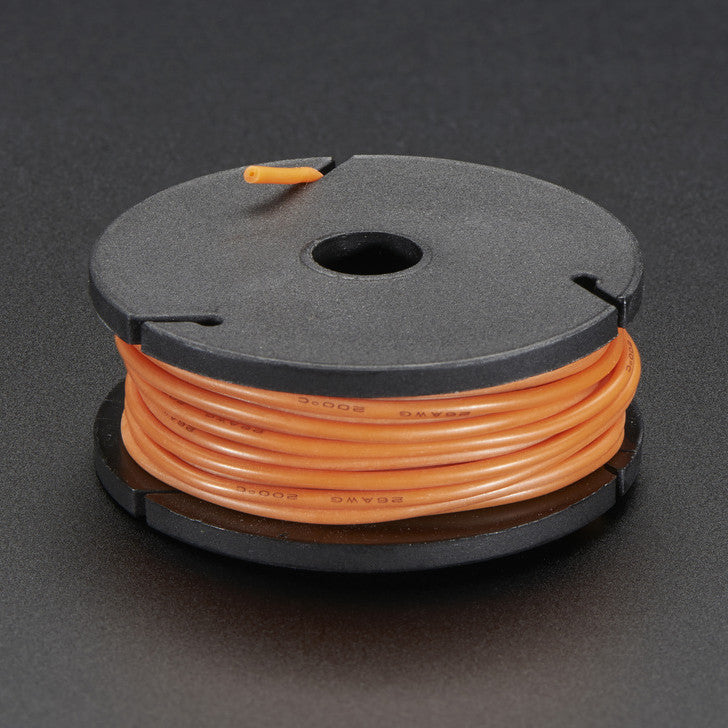 Odseven Silicone Cover Stranded-Core Wire - 25ft 26AWG Orange Wholesale