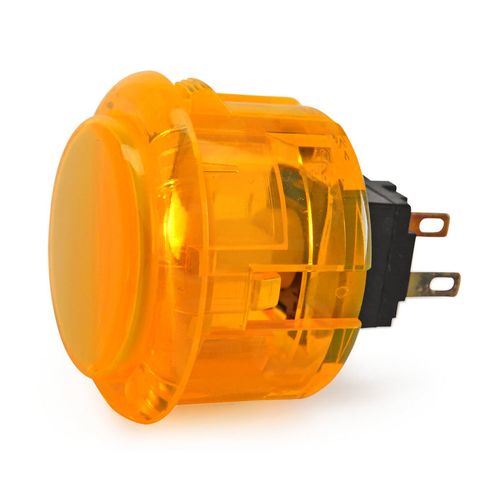 Odseven Arcade Button - 30mm Translucent Yellow Wholesale