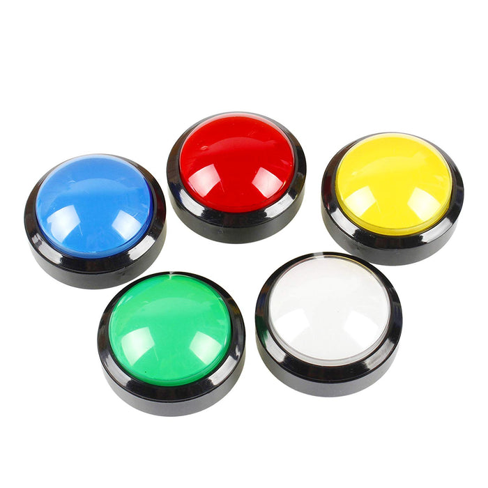 Odseven Massive Arcade Button with LED - 100mm Red Wholesale