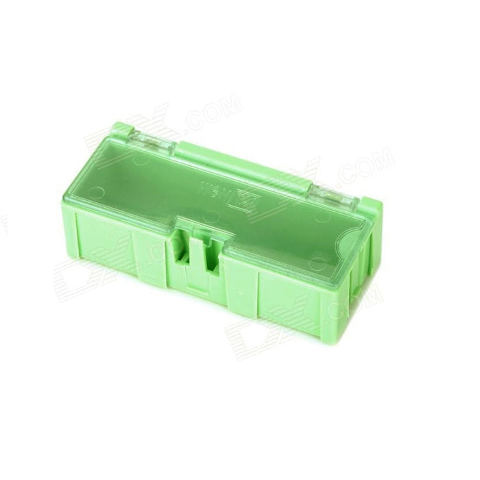 ODSeven Small Modular Snap Boxes - SMD Component Storage - 3 Pack - Green