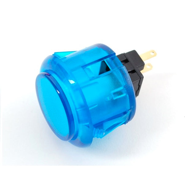 ODSeven Arcade Button - 30mm Translucent Blue Wholesale