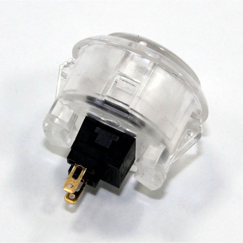 Odseven Arcade Button - 30mm Translucent Clear Wholesale