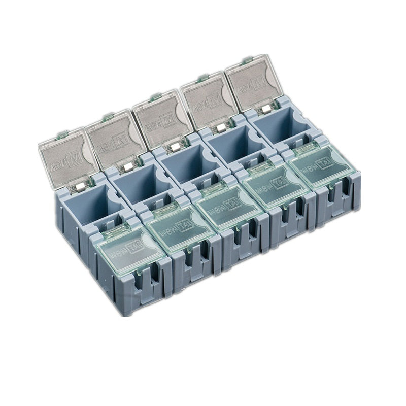 Odseven Tiny Modular Snap Boxes - SMD Component Storage-Bule