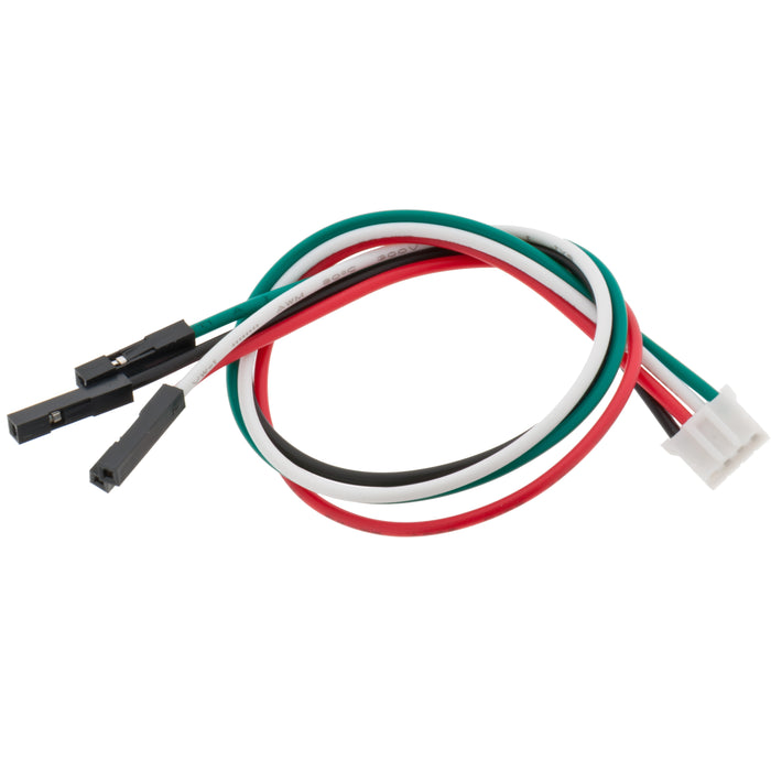 Odseven JST PH 4-Pin to Female Socket Cable - I2C STEMMA Cable - 200mm