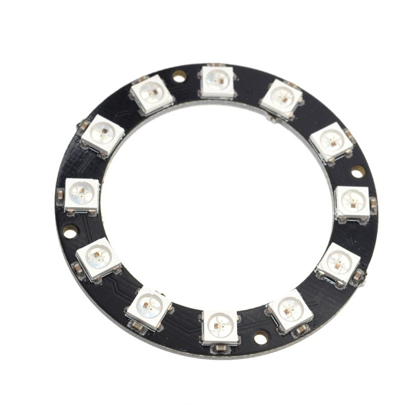 Odseven 12 Bit LEDs WS2812 5050 RGB LED Ring Lamp with Integrated Drivers