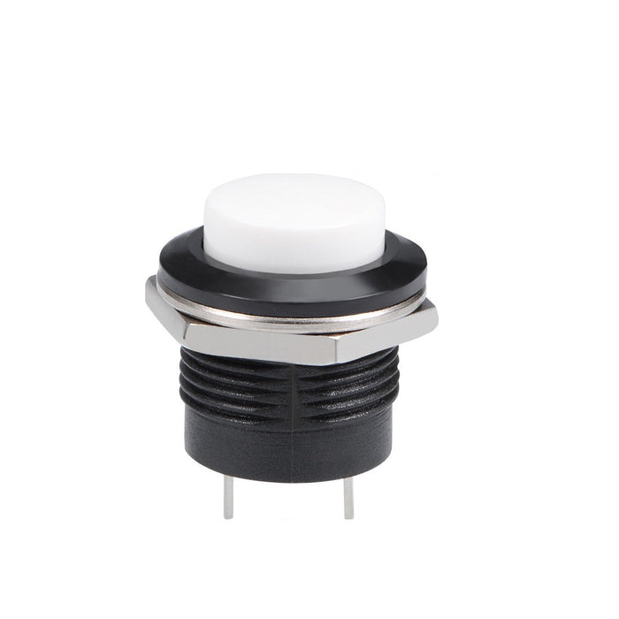 Odseven 16mm Panel Mount Momentary Pushbutton - White Wholesale